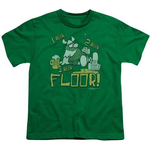 Image for Hagar The Horrible Youth T-Shirt - 1 2 3 Floor
