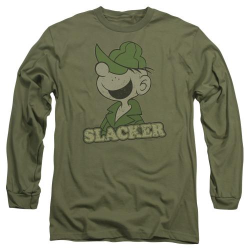 Image for Beetle Bailey Long Sleeve Shirt - Slacker