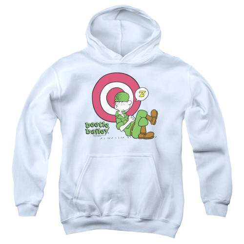 Image for Beetle Bailey Youth Hoodie - Target Nap