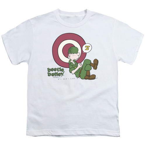 Image for Beetle Bailey Youth T-Shirt - Target Nap