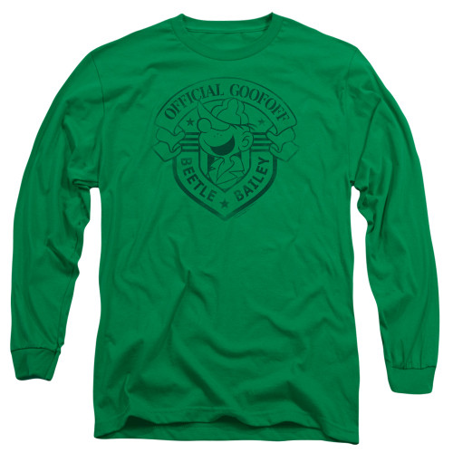 Image for Beetle Bailey Long Sleeve Shirt - Official Badge