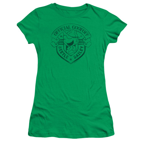 Image for Beetle Bailey Girls T-Shirt - Official Badge