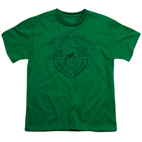 Image for Beetle Bailey Youth T-Shirt - Official Badge