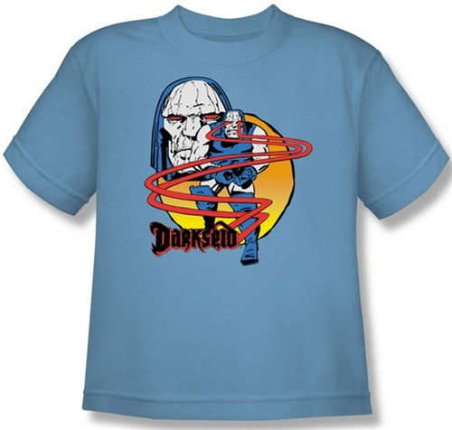 Image for Darkseid Not Amused Youth T-Shirt