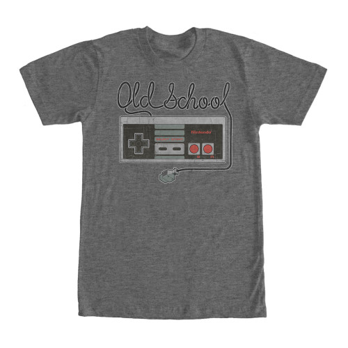 Image for Nintendo Tangled Controller Heather T-Shirt