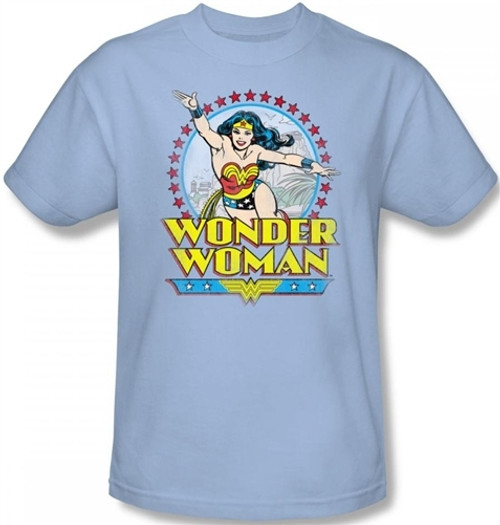 Image for Wonder Woman Star of Paradise Island T-Shirt