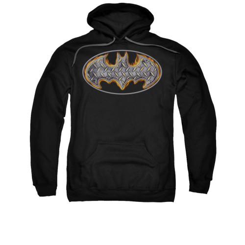 Image for Batman Hoodie - Steel Fire Shield