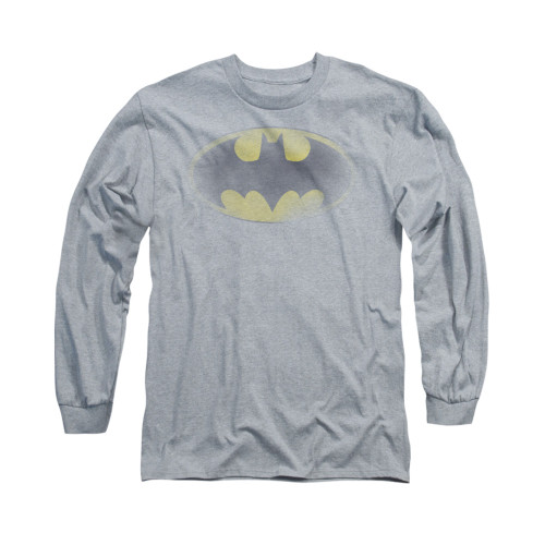 Image for Batman Long Sleeve Shirt - Faded Logo