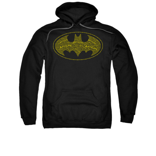 Image for Batman Hoodie - Type Logo
