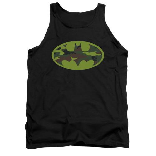 Image for Batman Tank Top - Camo Logo