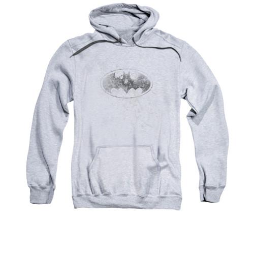 Image for Batman Hoodie - Burned & Splattered