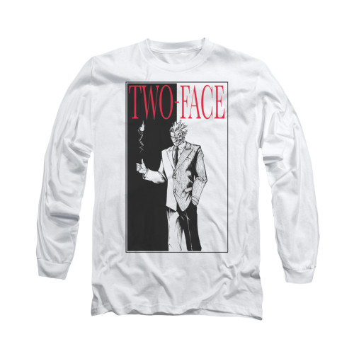 Image for Batman Long Sleeve Shirt - Two Face