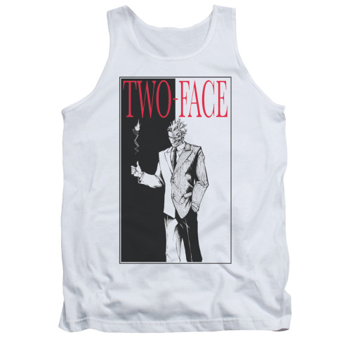 Image for Batman Tank Top - Two Face