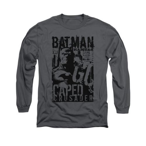 Image for Batman Long Sleeve Shirt - Caped Crusader