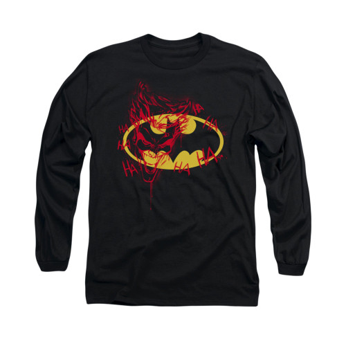Image for Batman Long Sleeve Shirt - Joker Graffiti
