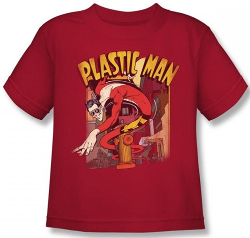 Image for Plastic Man Street Kid's T-Shirt