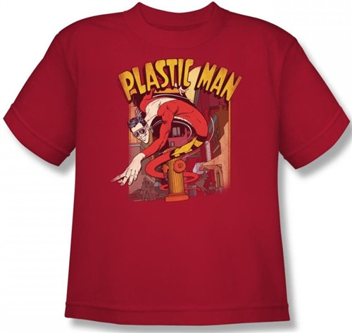 Image for Plastic Man Street Youth T-Shirt