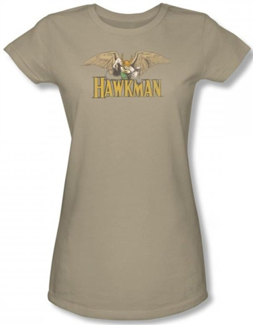 Image for Hawkman in Flight Girls Shirt