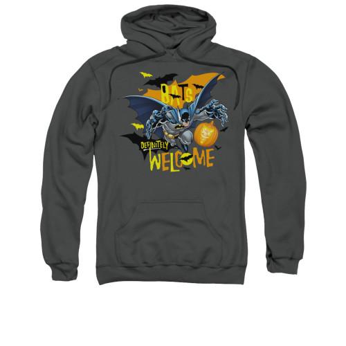 Image for Batman Hoodie - Bats Welcome