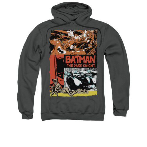 Image for Batman Hoodie - Old Movie Poster