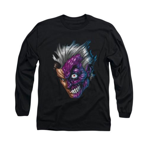 Image for Batman Long Sleeve Shirt - Just Face