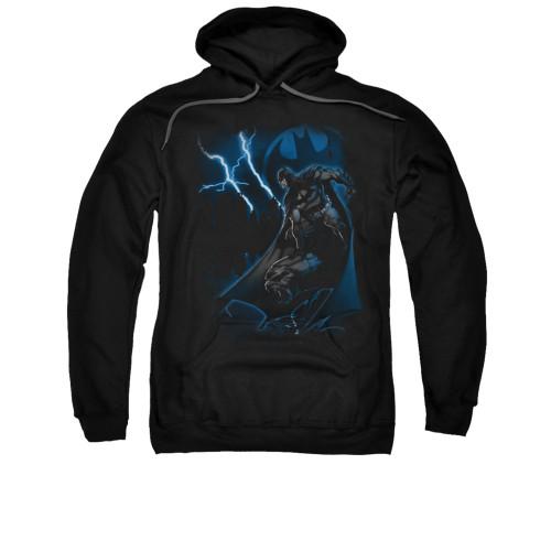 Image for Batman Hoodie - Lightning Strikes