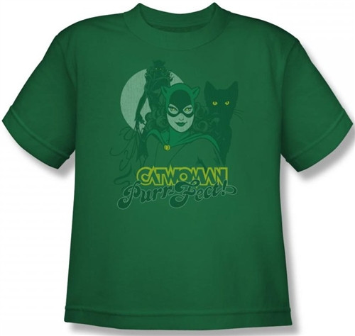 Image for Catwoman PurrFect Youth T-Shirt