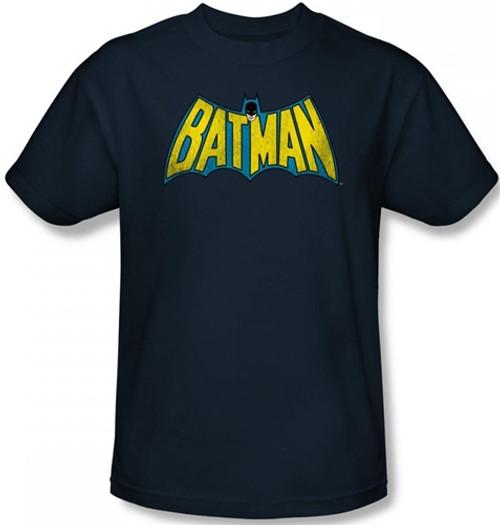 Image Closeup for Batman T-Shirt - Retro Logo