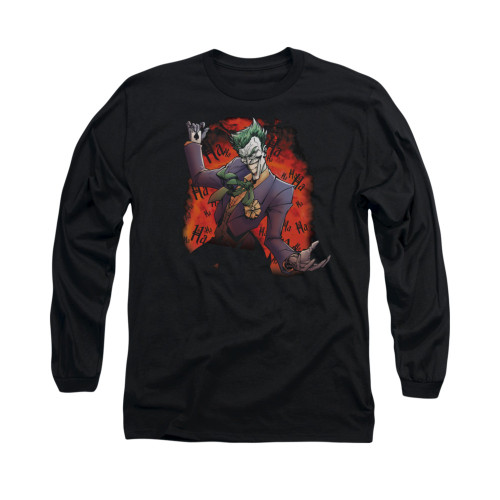 Image for Batman Long Sleeve Shirt - Joker's Ave