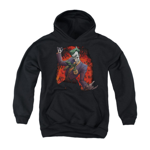 Image for Batman Youth Hoodie - Joker's Ave