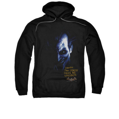 Image for Batman Arkham Asylum Hoodie - Arkham Joker