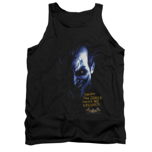 Image for Batman Arkham Asylum Tank Top - Arkham Joker