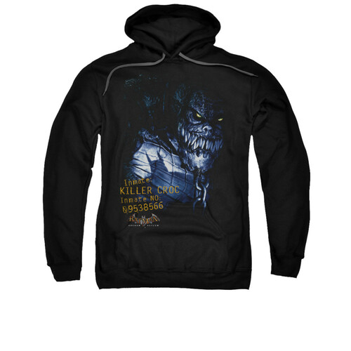 Image for Batman Arkham Asylum Hoodie - Arkham Killer Croc