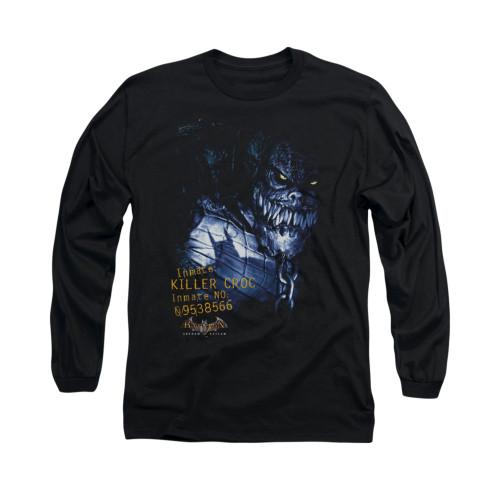 Image for Batman Arkham Asylum Long Sleeve Shirt - Arkham Killer Croc