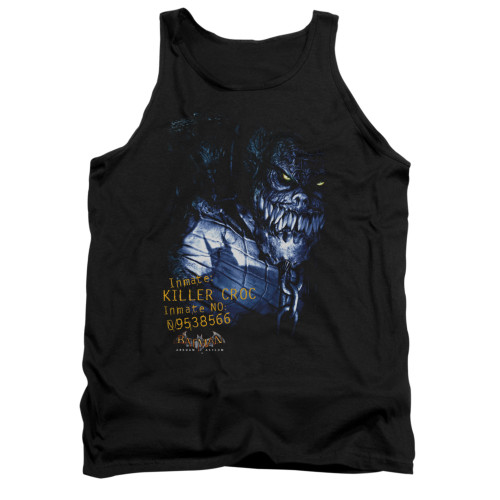 Image for Batman Arkham Asylum Tank Top - Arkham Killer Croc