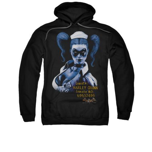 Image for Batman Arkham Asylum Hoodie - Arkham Harley Quinn
