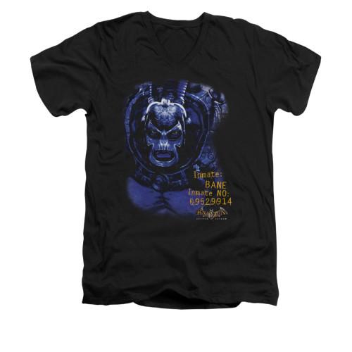Image for Batman Arkham Asylum V Neck T-Shirt - Arkham Bane