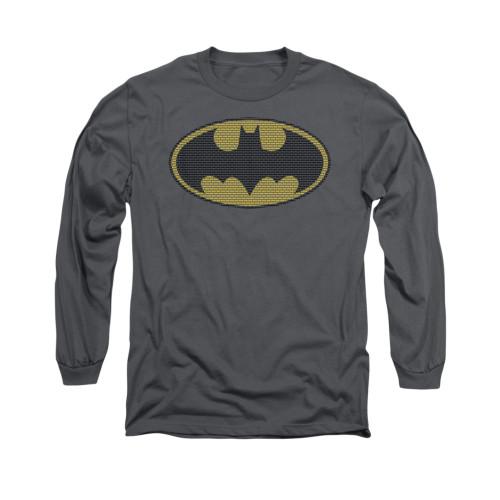 Image for Batman Long Sleeve Shirt - Little Logos
