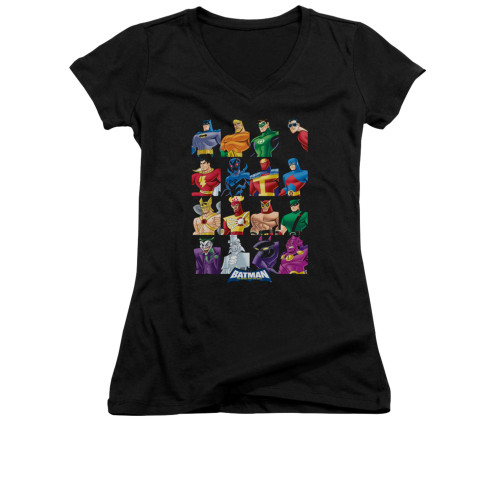 Image for Batman Girls V Neck - Batmobile