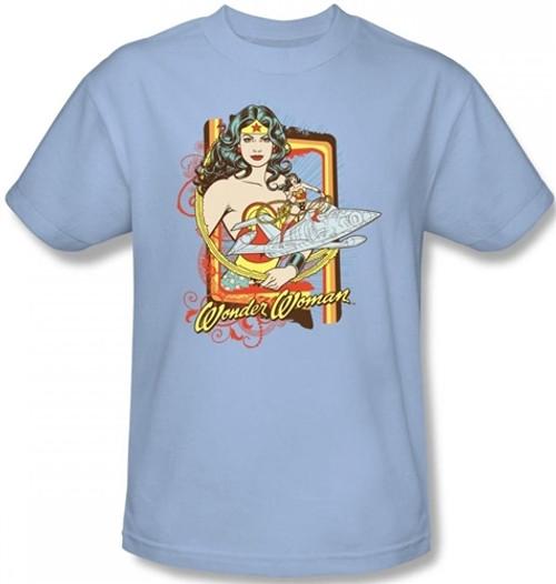 Wonder Woman Invisible Jet T-Shirt