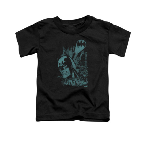 Image for Batman Toddler T-Shirt - Gritted Teeth