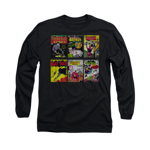 Image for Batman Long Sleeve Shirt - Bm Covers