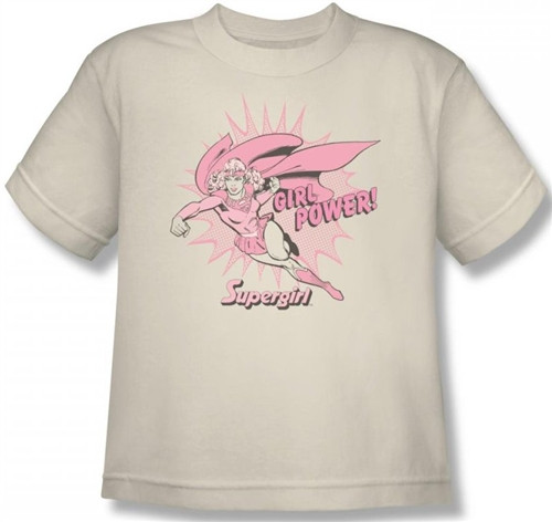 Image for Supergirl Girl Power Youth T-Shirt