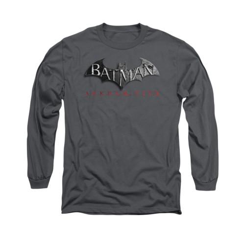 Image for Arkham City Long Sleeve Shirt - Logo