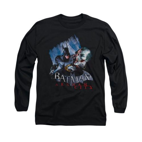 Image for Arkham City Long Sleeve Shirt - Joke's On You!