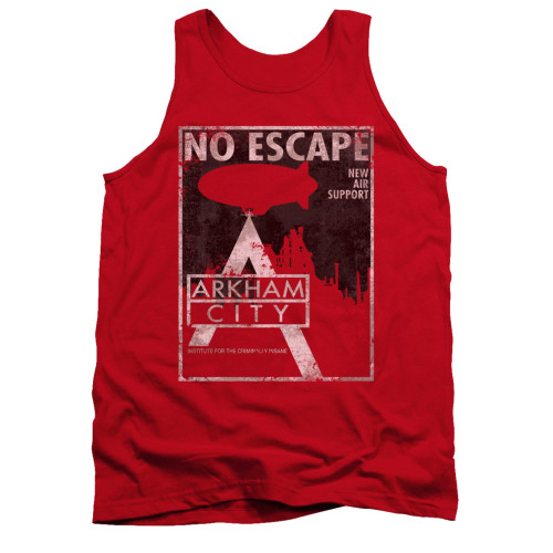 Image for Arkham City Tank Top - No Escape