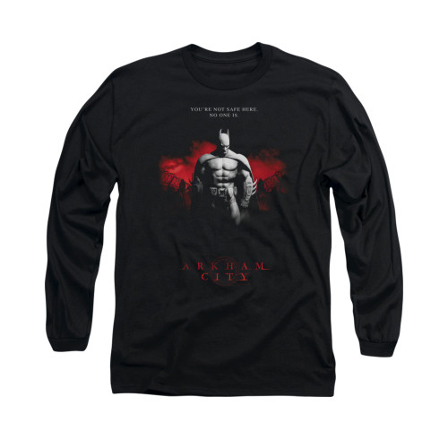 Image for Arkham City Long Sleeve Shirt - Standing Strong