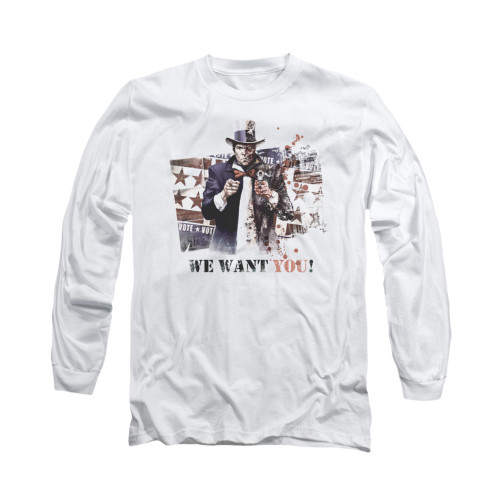 Image for Arkham City Long Sleeve Shirt - We Want You