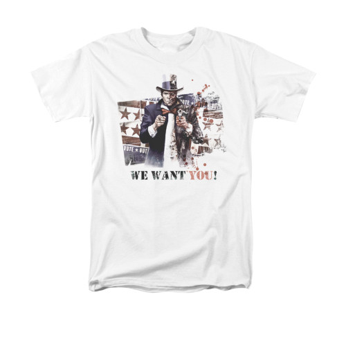 Image for Arkham City T-Shirt - We Want You