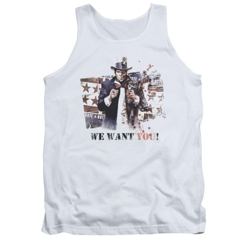 Image for Arkham City Tank Top - We Want You